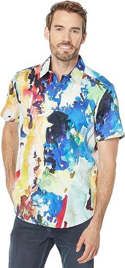 Catalina Short Sleeve Woven Shirt