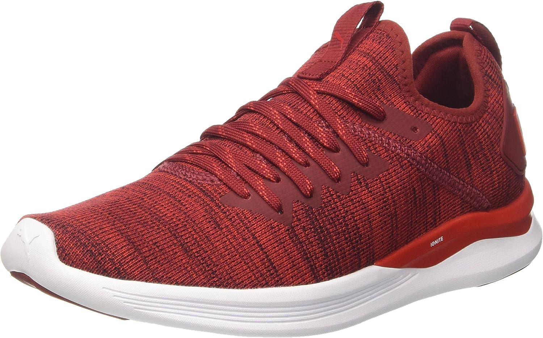 PUMA Mens Ignite Flash Evoknit Running shoes
