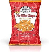 Perfection Snacks Gluten Free Mini Tortilla Chips (Nacho Cheddar, 7oz / 3ct)