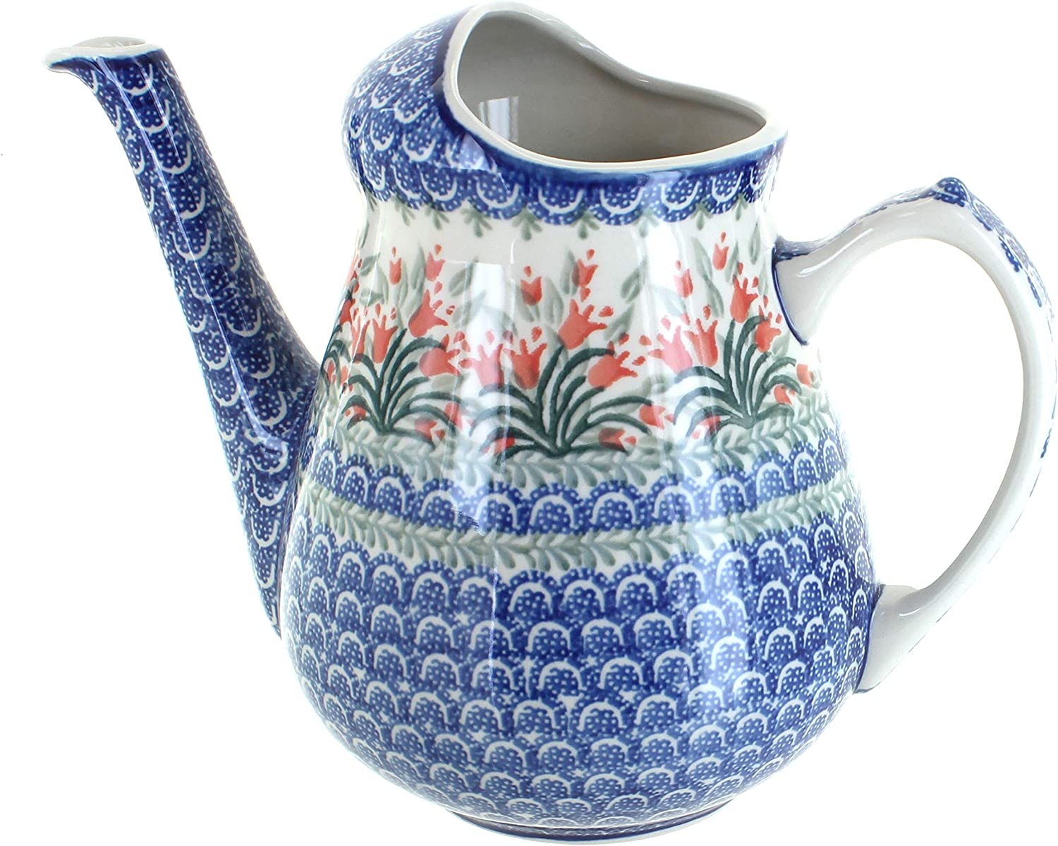 Blue Rose Polish Finally popular brand Pottery Spring Watering Can Gorgeous Tulip
