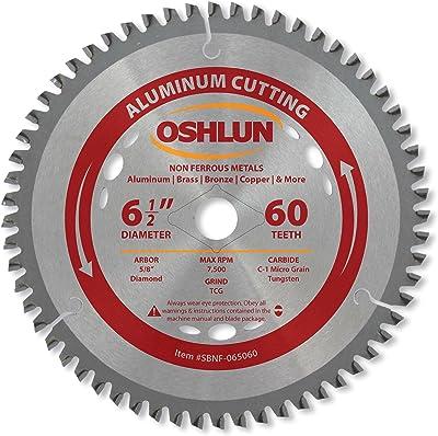 Oshlun SBNF-065060 Saw Blade for Cutting Door