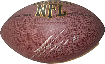Jordy Nelson Autographed Wilson NFL Football, Green Bay Packers, Super Bowl Champion, Pro Bowl, Kansas State Wildcats