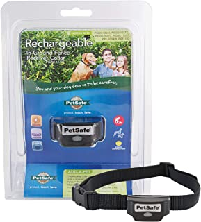 PetSafe Rechargeable In-Ground Fence for Dogs and Cats over 5lb - from the Parent Company of INVISIBLE FENCE Brand - Water...