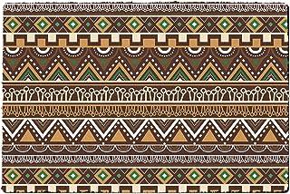 Rainbow Rules Indoor Doormat - Lion King Inspired African Tribals Disney