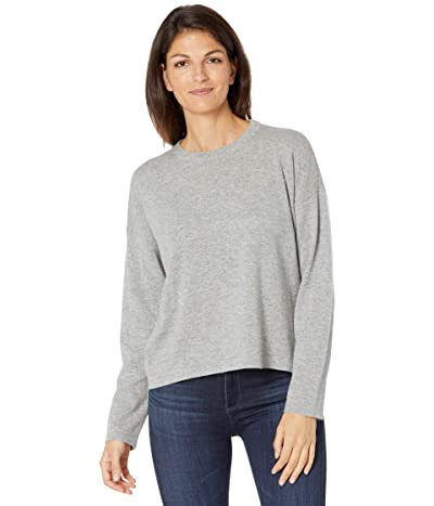Eileen Fisher Crew Neck Top (Moon) Women