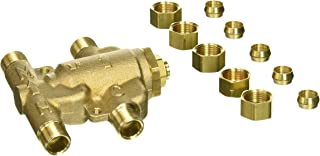 Watts 0204143 USG-B-M2 Under Sink Guardian Thermostatic Mixing Valve, 3/8 Inches, Brass
