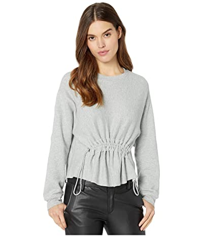 CURRENT/ELLIOTT The Bloom Sweatshirt (Heather Grey) Women