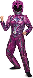 Disguise Ranger Movie Deluxe Costume, Pink, Small (4-6X)