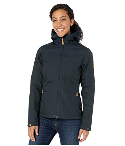 Fjallraven Stina Jacket (Dark Navy/Dark Navy) Women