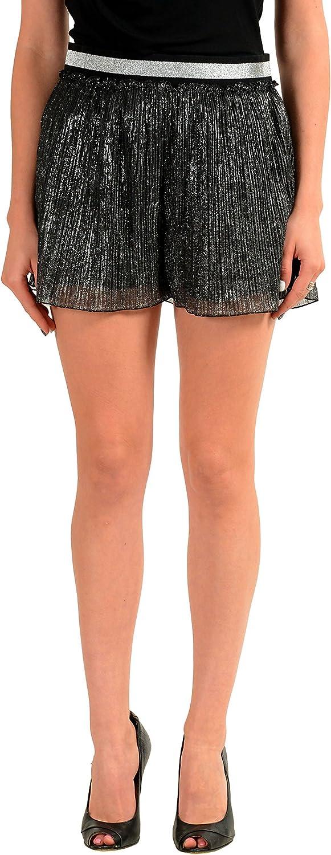 Just Cavalli Multi-Color Elastic Waist Women's Casual Shorts US S IT 40