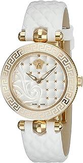 Women's VQM020015 Vanitas Micro Analog Display Swiss Quartz White Watch