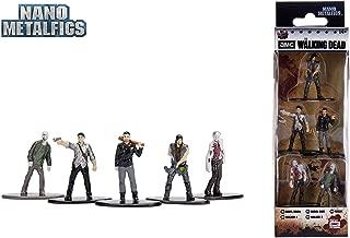 Jada Nano Metalfigs 30413 AMC The Walking Dead Wave 2 Metals Die-Cast Collectible Toy Figures (5 Piece), 1.65