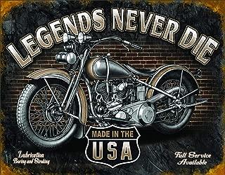 Desperate Enterprises Legends - Never Die Tin Sign, 16