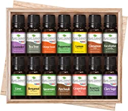 Plant Therapy Essential Oils Top 14 Singles Set 100% Pure, Undiluted, 14 x 10 mL