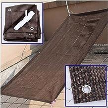 PENGFEI Sunblock schaduwdoek, 6-polig dik zonnebrandnetje, zonwering, ventilatie anti-veroudering, gebruikt voor terras ba...