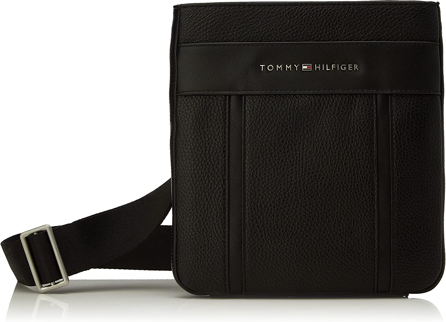Tommy Hilfiger TH Downtown Mini Crossover, Crossovers para Hombre, Black, Medium