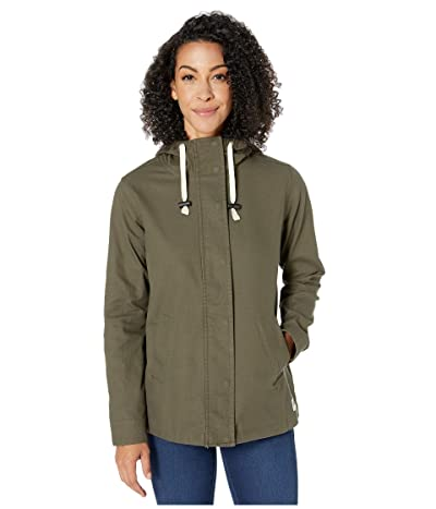The North Face Shipler Full Zip Hoodie (New Taupe Green) Women