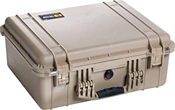 Pelican 1550 Case with Padded Dividers (Desert Tan)