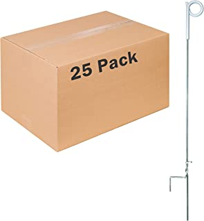 Zareba Systems PTP39A Pig Tail Step-in Fence Post - 25 Pack
