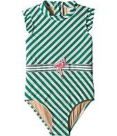 Fashion Flamingo Belt One-Piece (Toddler)