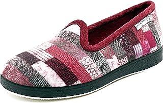 Selquir 54417 2 Burdeos, Pantofole Donna