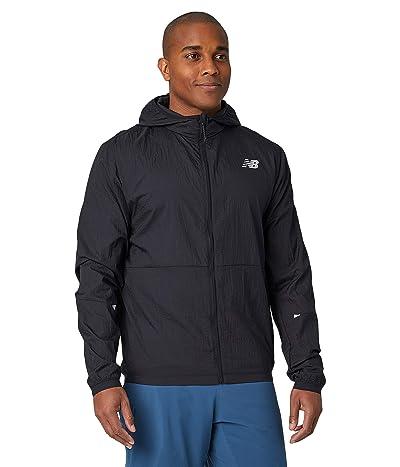 New Balance Impact Run Light Pack Jacket (Black) Men