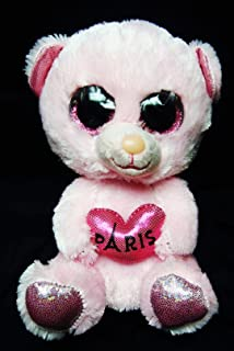Ty PARIS the Solid Pink BEAR France Exclusive 6