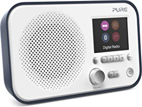 Pure Elan BT3 Portable DAB/DAB+/FM Digital Radio with Bluetooth, Tone and Radio Alarm, Colour Screen, AUX Input and 40 Sta...