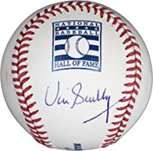 Vin Scully Los Angeles Dodgers Autographed Rawlings Hall of Fame Official Major League Baseball PAAS COA