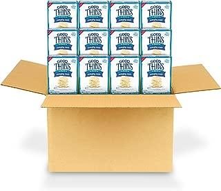 Good Thins Simply Salt Rice Crackers, 12 - 3.5 oz Boxes