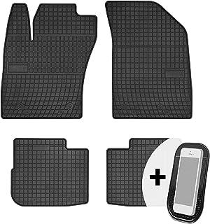 Maßgefertigte Fußmatten für Fiat Tipo I Velours SCHWARZ 1988-1995