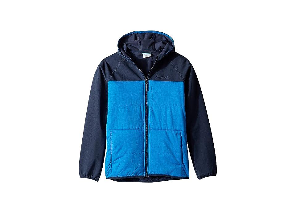 Columbia Kids Take A Hiketm Softshell Jacket (Little Kids/Big Kids) (Super Blue/Collegiate Navy) Boy