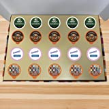 Coffee Wholesale Club - Flavored Coffee K-Cups Variety Pack Gift Sampler Subscription Box For Keurig 2.0 Brewers: 20 count