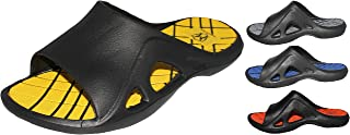 Greg Michaels Mens Flip Flops Slide Slippers - Sport Comfortable for Home Beach Walking Light Weight