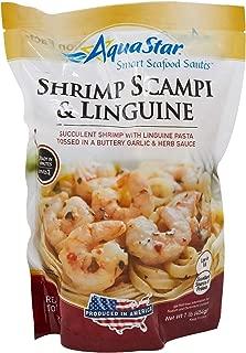 Aqua Star, Shrimp Scampi and Linguine Saute, 16 oz (Frozen)