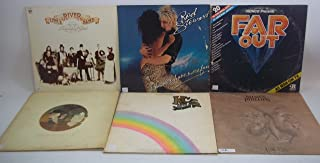1970s Rock Music Lot of 6 Vinyl Record Albums KC & The Sunshine Band and more