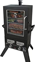 char broil vertical gas smoker 800