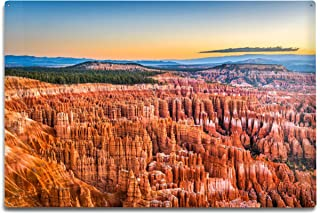 Lantern Press Bryce Canyon National Park, Utah Photography A-90560 (12x18 Aluminum Wall Sign, Wall Decor Ready to Hang)