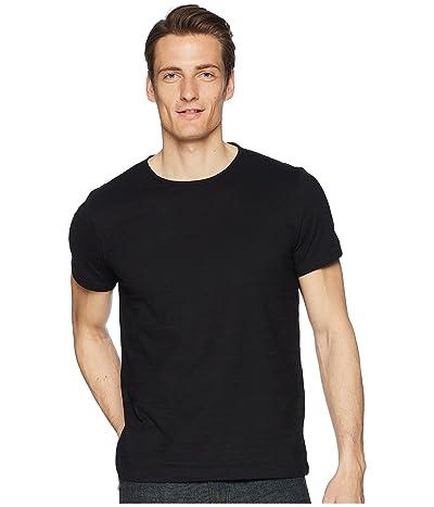 John Varvatos Collection Short Sleeve Knit Crew Neck T-Shirt K1762R2 (Black) Men