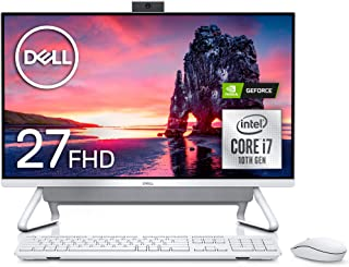 Dell デスクトップパソコン Inspiron 7790 Core i7 シルバー 20Q31/Win10/27FHD/16GB/256GB SSD+1TB HDD/MX110