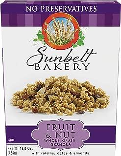 Sunbelt Bakery Fruit & Nut Granola, 6 Count