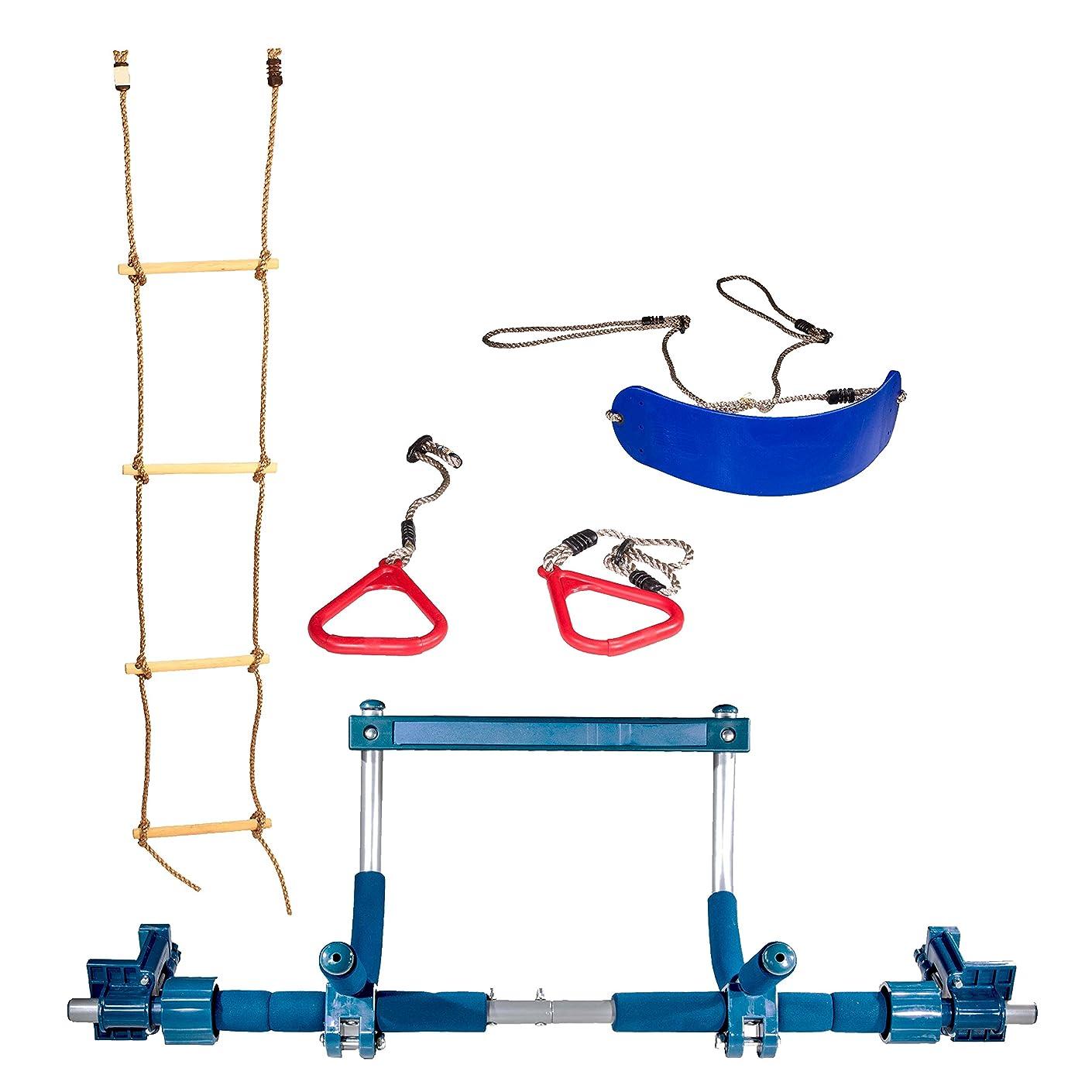 要旨ブランド力Gym1 インドアブランコ?プラスチック吊り輪?縄ばしご付きインドアプレイグラウンド