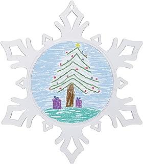 Best snowflake photo ornament Reviews