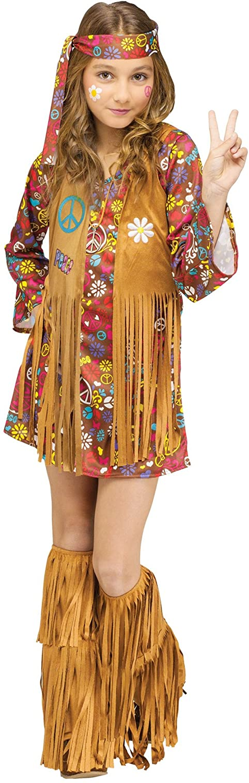 Luxury Child Peace Love Costume Hippie Purchase