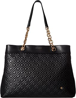 b14ea775e Tory burch perforated logo tote