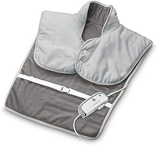medisana HP 630 verwarmingsmuts voor hals, schouder en rug, elektrisch, verwarmende poncho met 4 temperatuurstanden, overv...