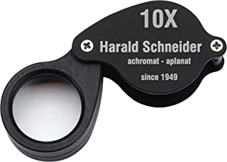 Schneider L2 10X Achromatic Aplanatic Triplet Professional Jeweler's Loupe, 20MM Lens - Made in Germany