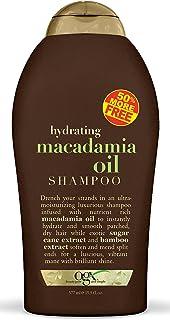 (OGX) Organix Shampoo Macadamia Oil 19.5oz Bonus(Moisturizing) (3 Pack)