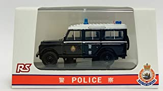 1:76 Oxford Diecast Hong Kong Police Land Rover Series II Station Wagon (Hong Kong Limited Edition
