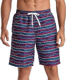 Anwell Mens Swim Trunks Summer Beach Shorts Board Shorts with Pockets 21 Boardshorts